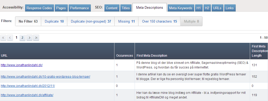 Ahrefs - SEO Reports - Meta Description
