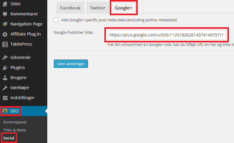 Google+ Publisher