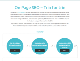 On-Page SEO - Trin for trin